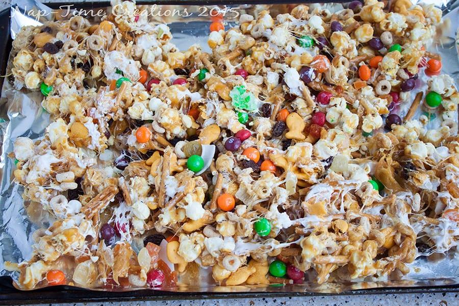 Skittles Caramel Snack Mix 7