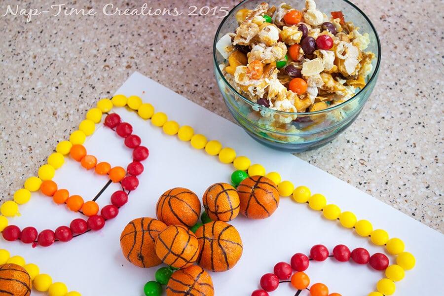Skittles Caramel Snack Mix