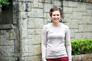 Womens Long Sleeve T-shirt Pattern FREE