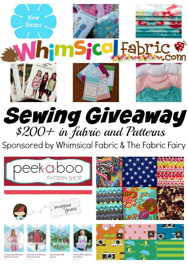 Sewing Themed Giveaway {CLOSED}