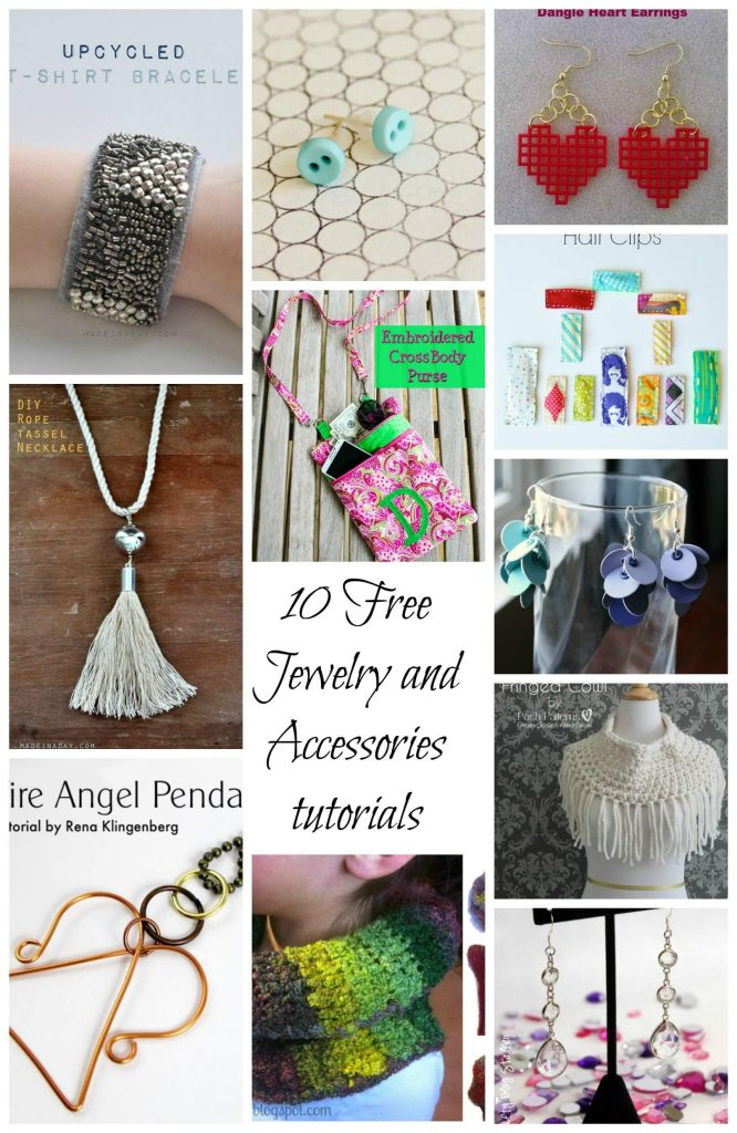 10 Free Jewelry and Accessories tutorials