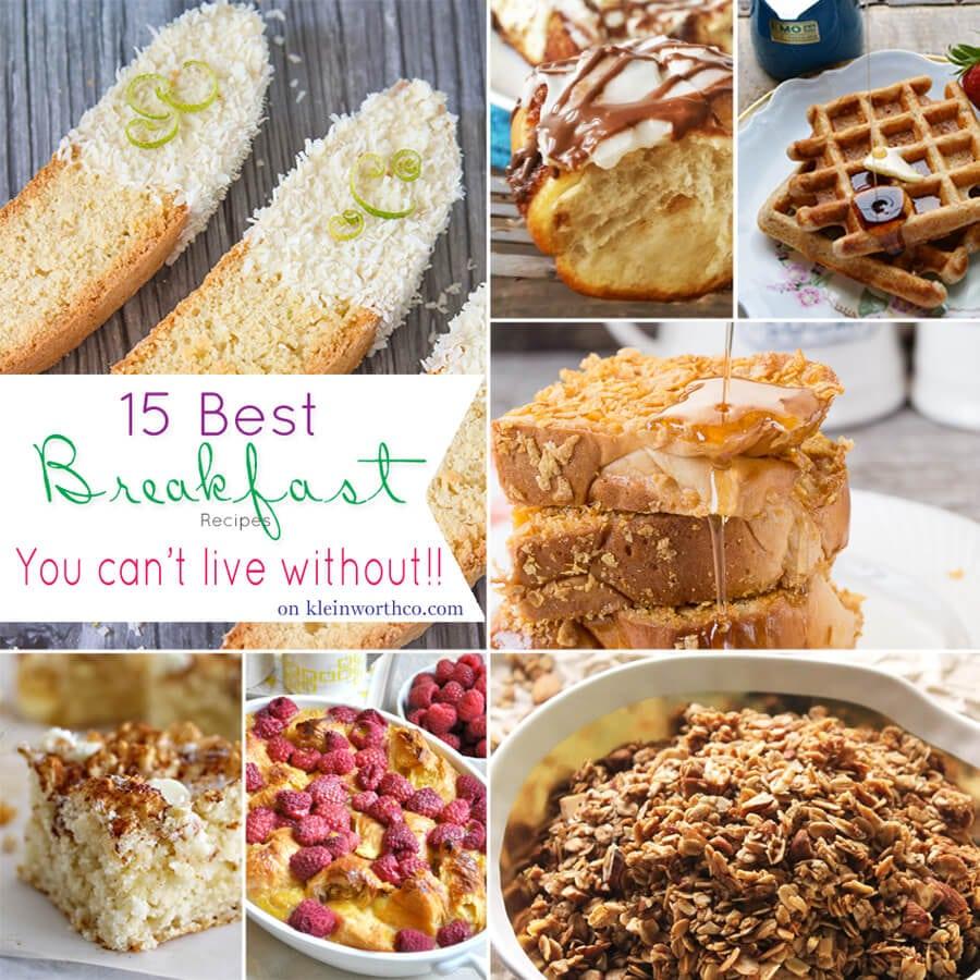15 Best Breakfast Recipes
