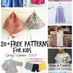 Free Sewing patterns for Kids Spring/Summer 2015