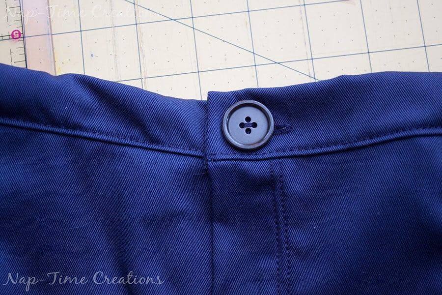 adjustable waistband tutorial 1