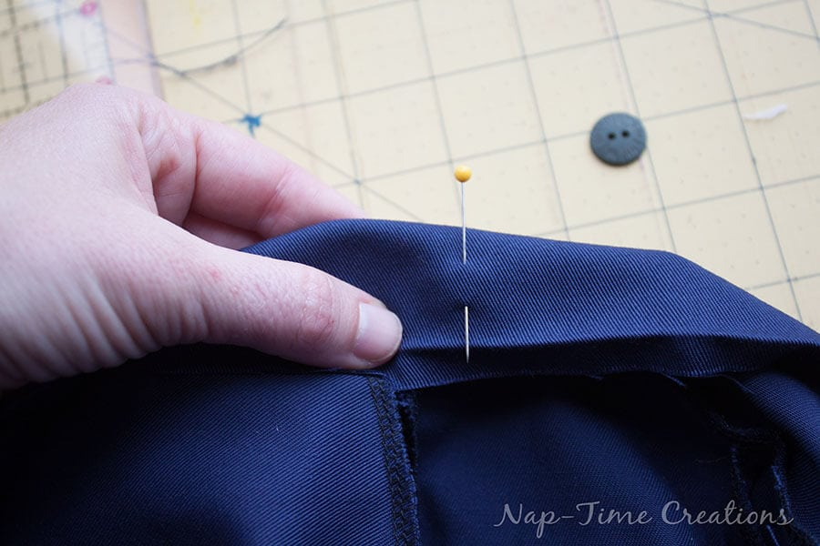 adjustable waistband tutorial 11