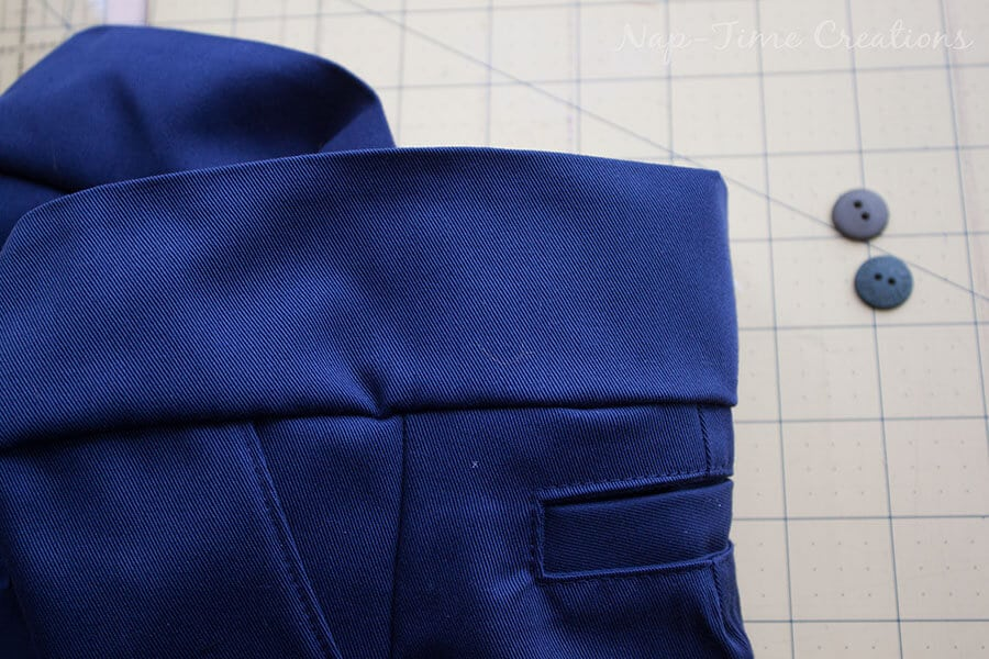 adjustable waistband tutorial 12