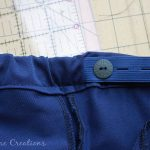 Adjustable Waistband Tutorial – with button elastic