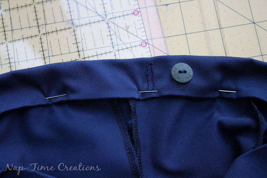 adjustable waistband tutorial 4