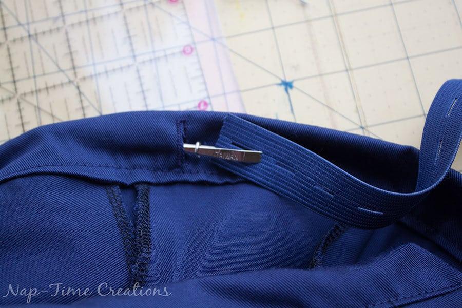 adjustable waistband tutorial 5