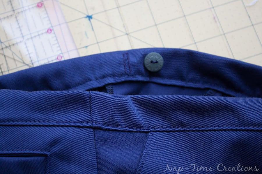 adjustable waistband tutorial 6