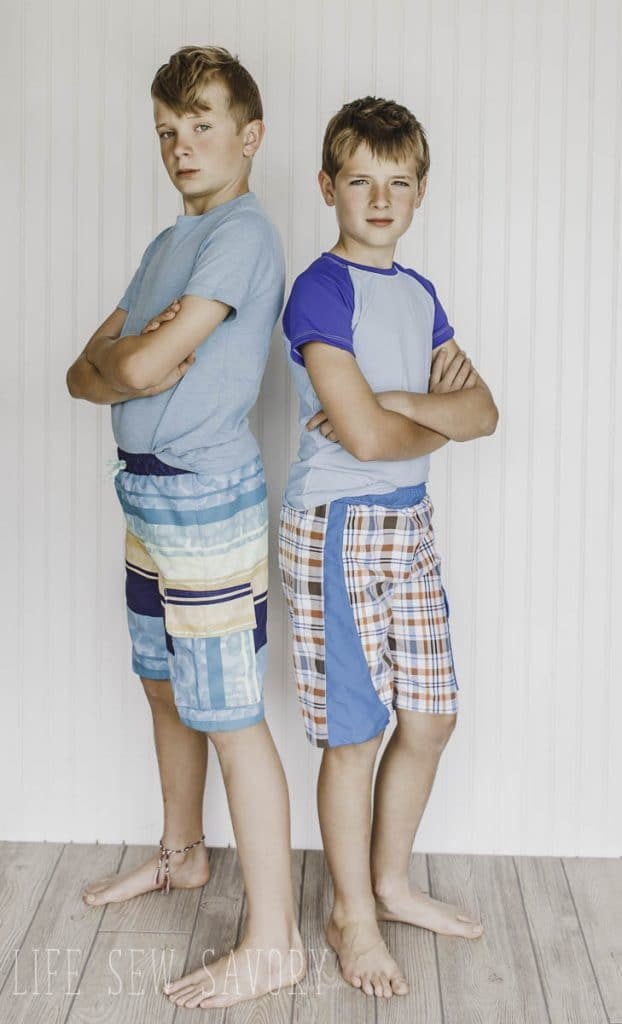 board shorts for boys sewing pattern for summer