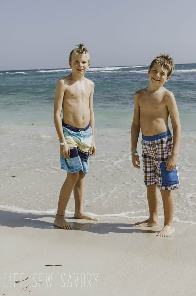 board shorts sewing pattern