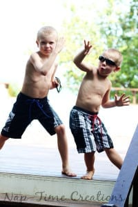 Cool Dude Board Shorts Sewing Pattern