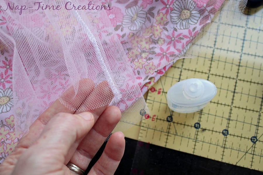cotton and tulle skirt tutorial 2