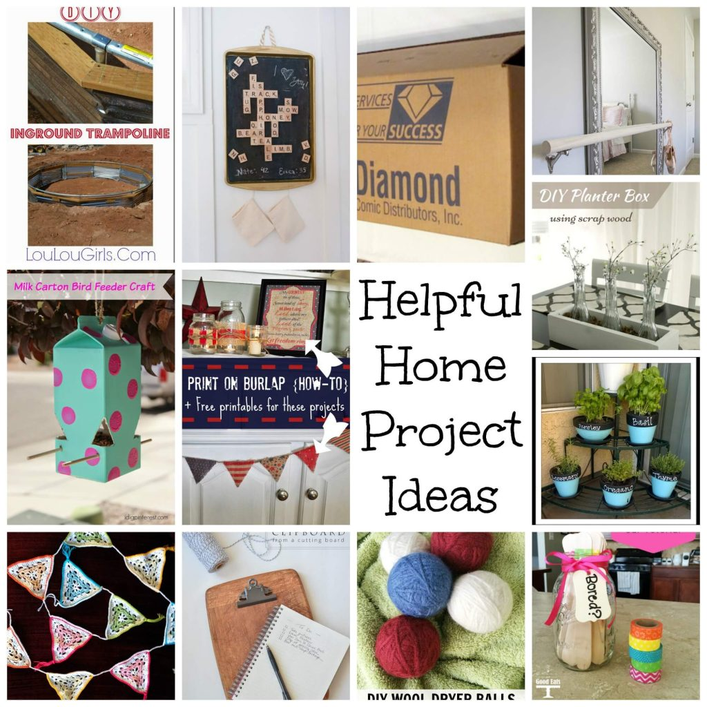 helpful home project ideas a great round up of ideas from Nap-Time Creations