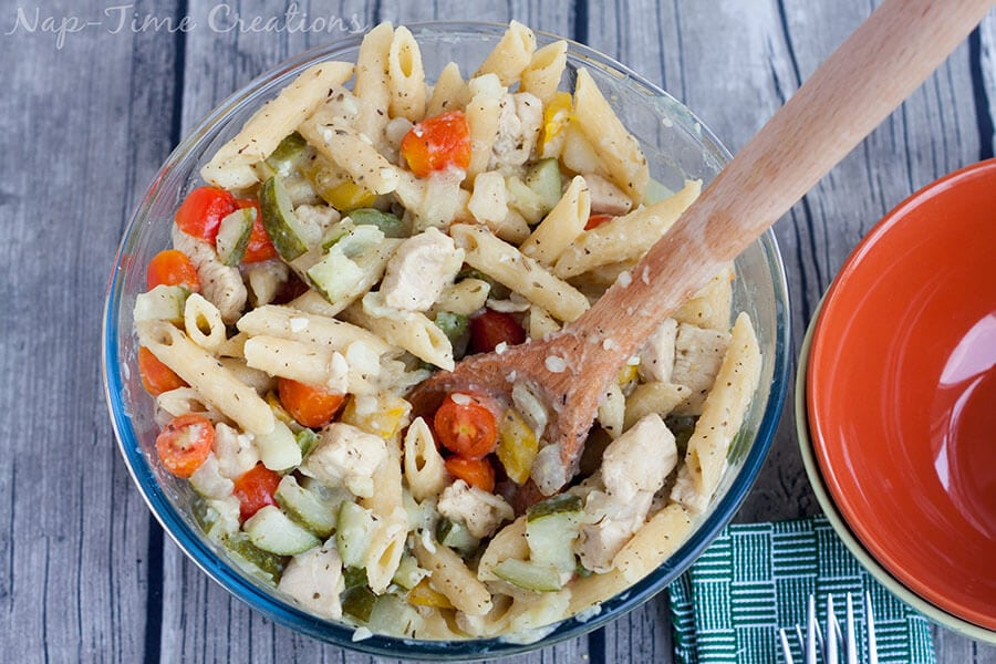 one pot Lebanese Chicken pasta