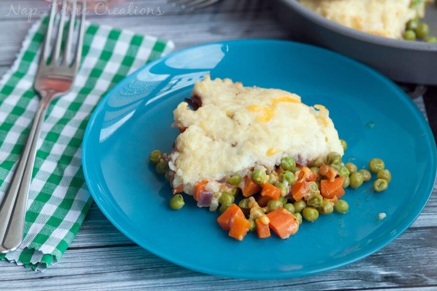 vegetairan ranch shepherds pie 4