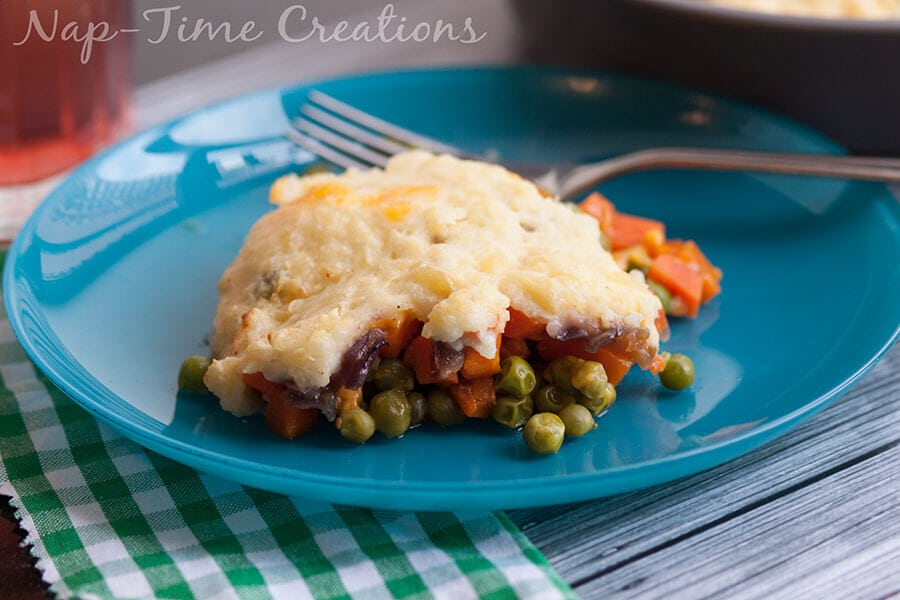 vegetairan ranch shepherds pie