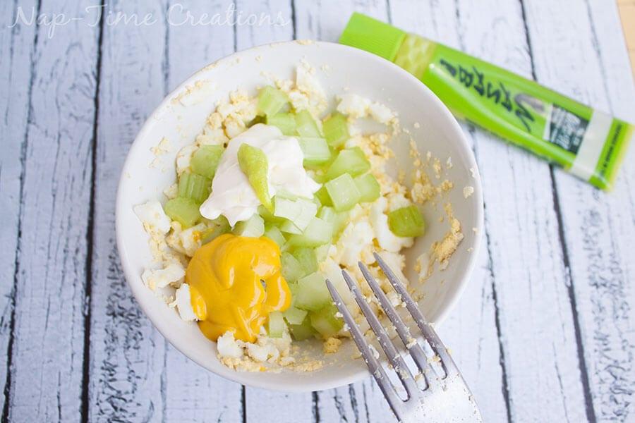 wasabi egg salad 4