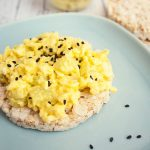 Wasabi Egg Salad – lunch for one