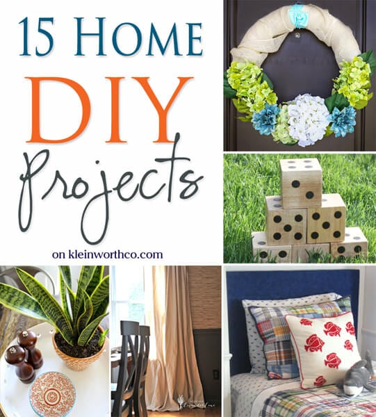 15 home diy projects 600