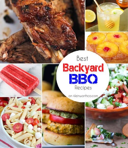 Best Backyard BBQ Recipes 600