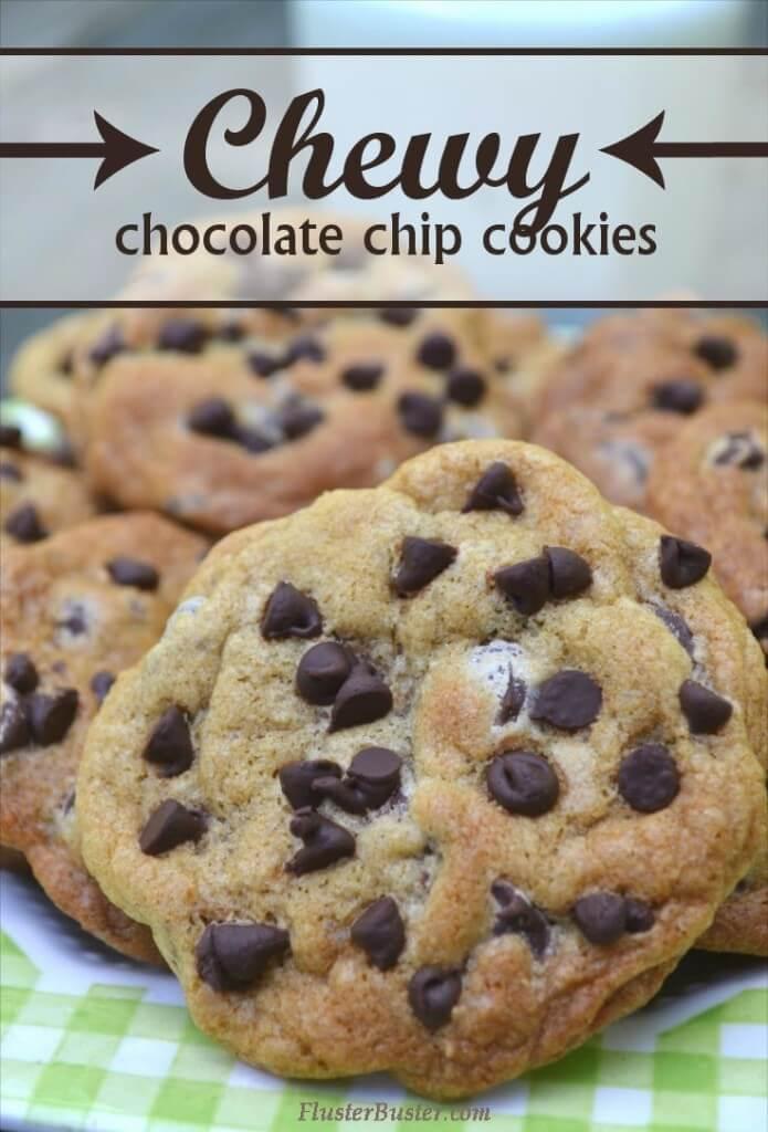 Chocolate Chip Cookies Pinterest