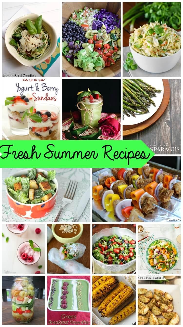 15+ Fresh Summer Recipes