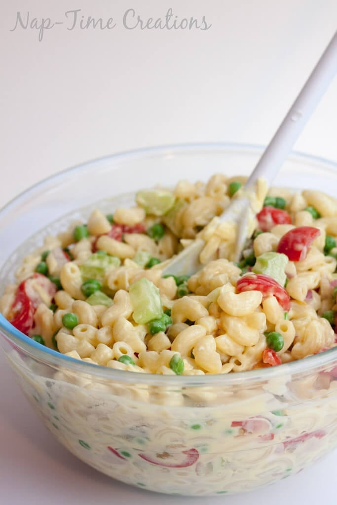 Low Fat Pasta Salad with Vegetables 4