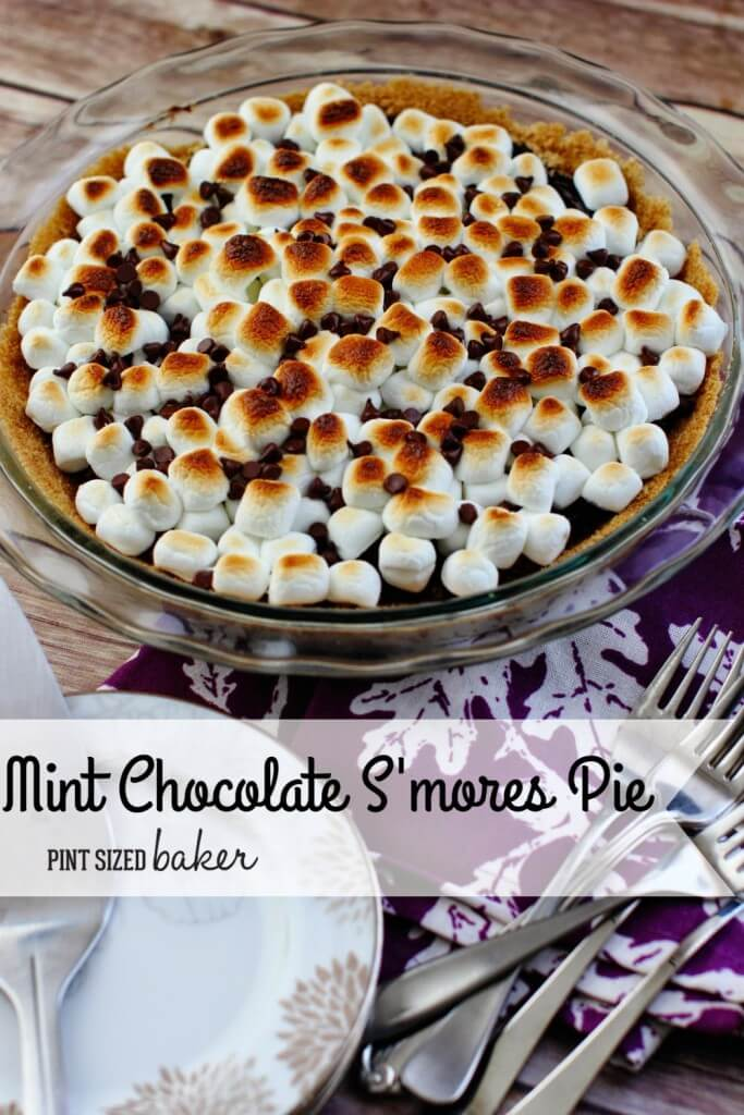 Mint Chocolate Smores Pie5a