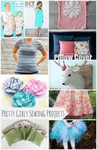 10 Pretty Girly Sewing Projects