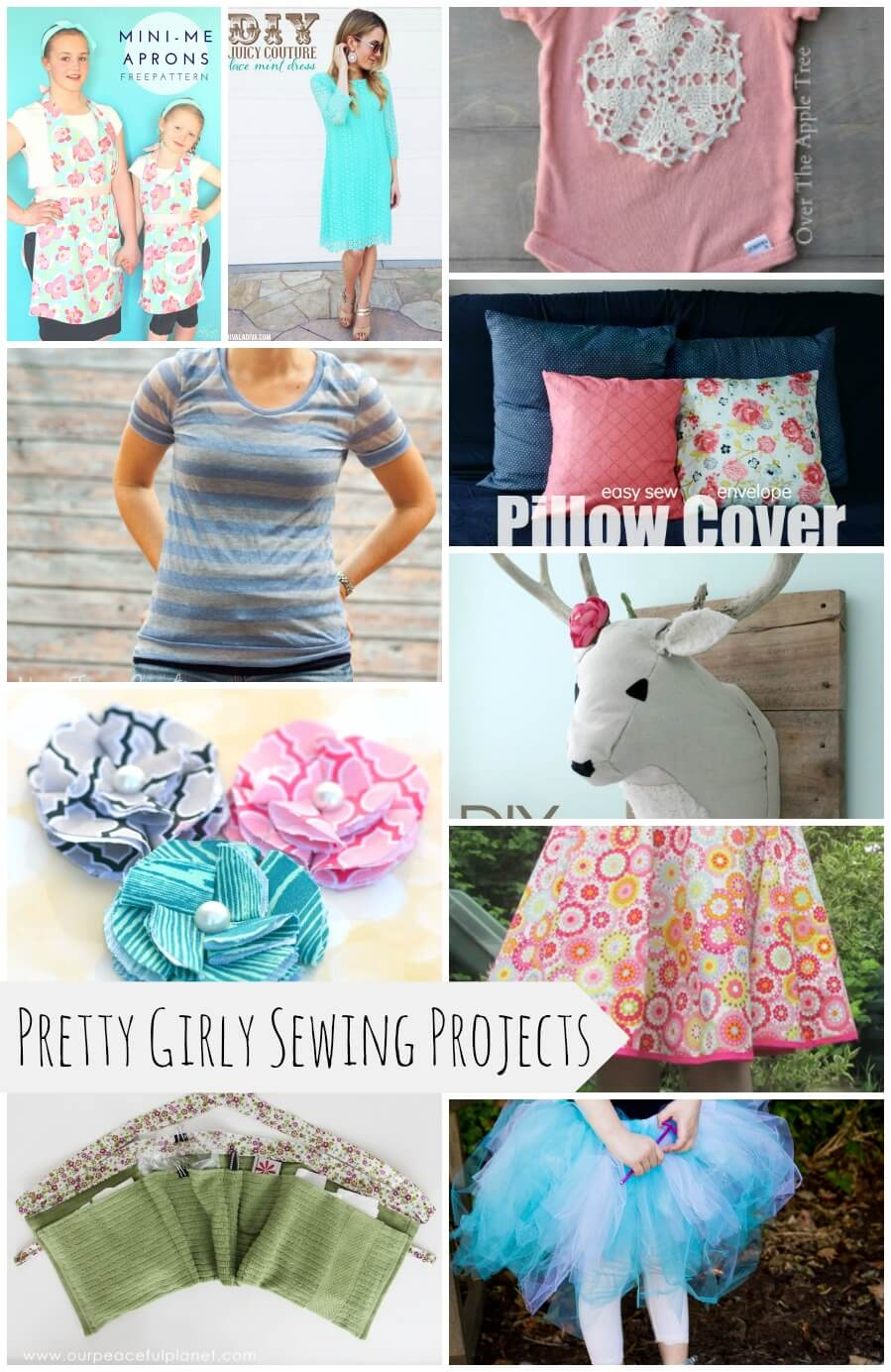 10 pretty girly sewing projects life sew savory for Pretty project