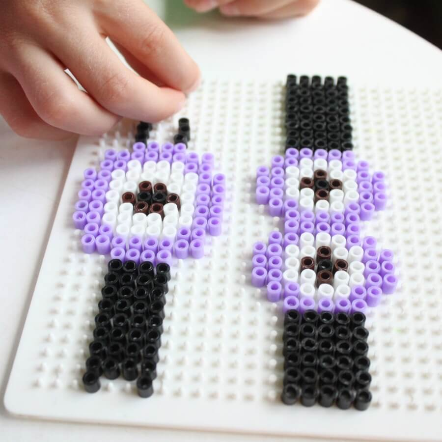 loom beaded snoopy karimova craft ps ideas bead kubra on bracelet other pin animals stitch stuff some by beads brick peyote peanuts perler and