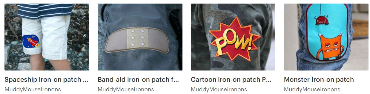 iron on patches for pants
