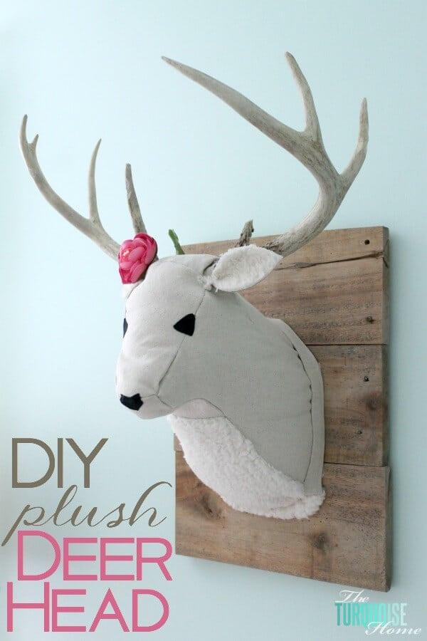 faux-plush-diy-deer-head-7