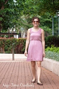 Women's Tank Dress Free Pattern