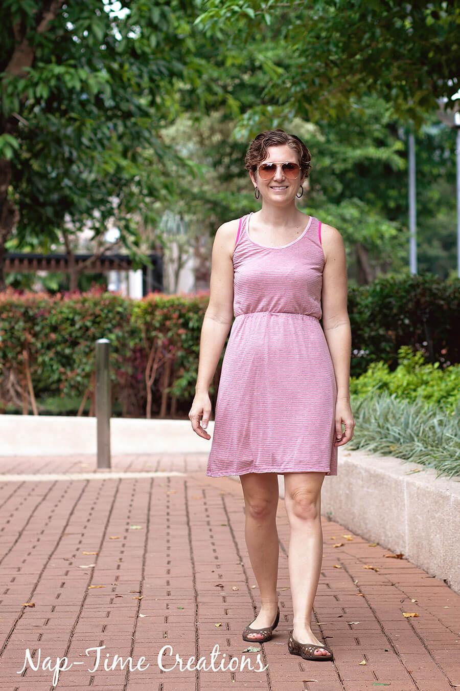 Women's Tank Dress Free Pattern