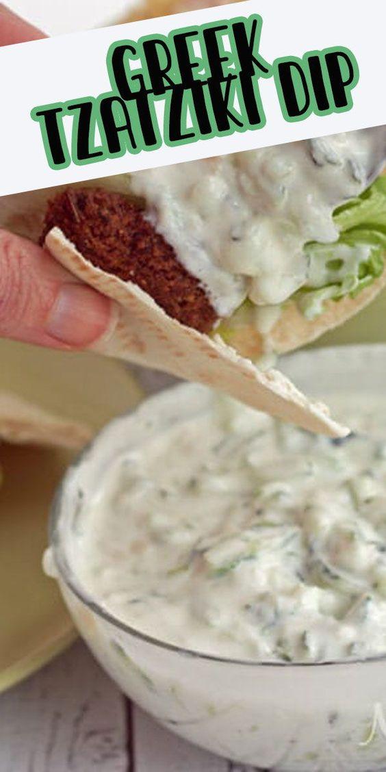 Greek Tzatziki Recipe - a tasty dip