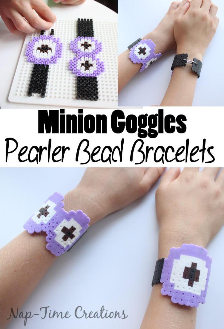 minion pearler bead bracelets