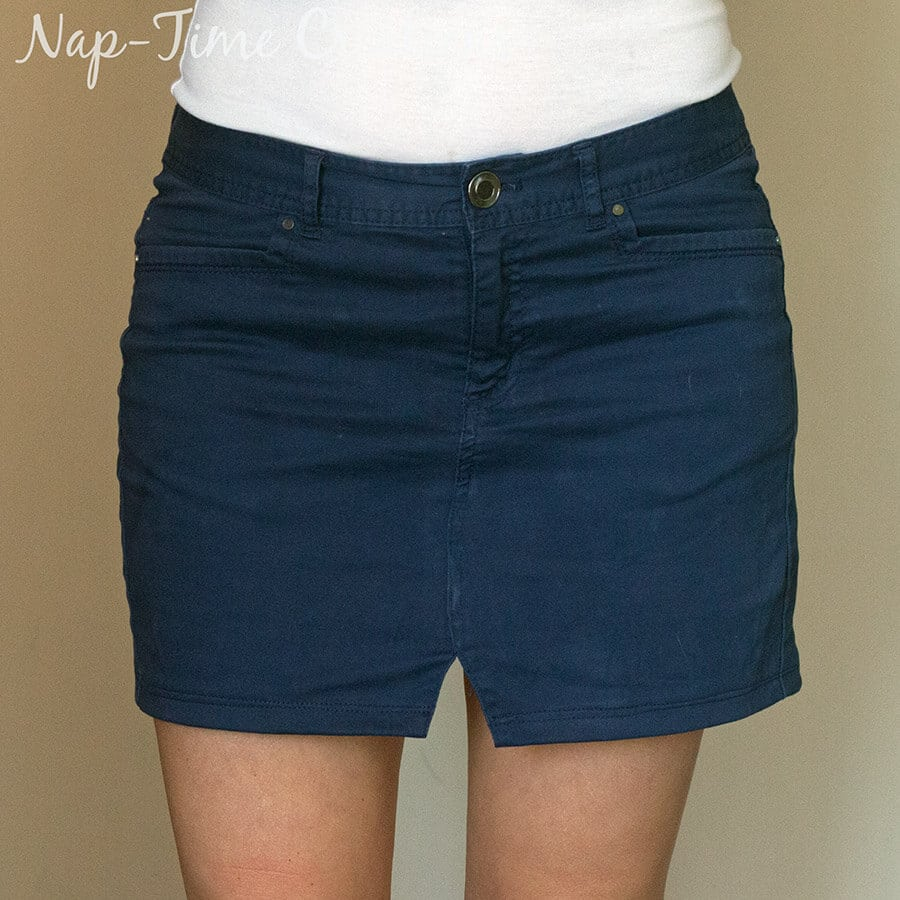 Simple Pencil Skirt Pattern