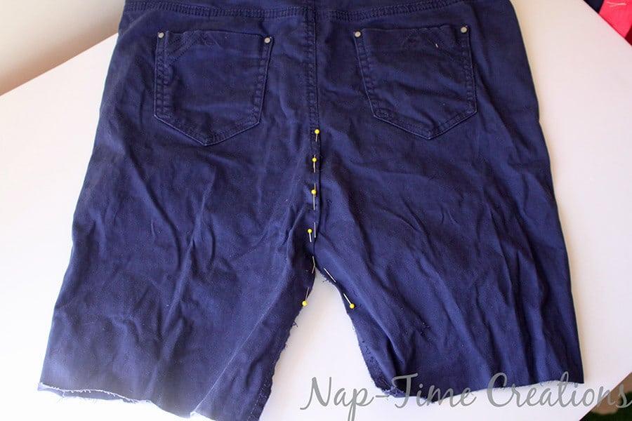 pants to skirt refashion tutorial3