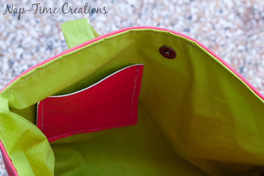 pleather tote bag free pattern4