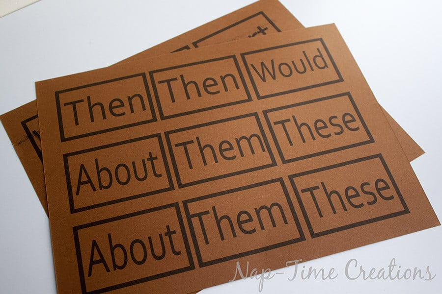 sight word games1
