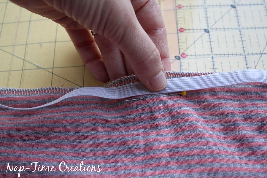 tank dress tutorial from a free pattern