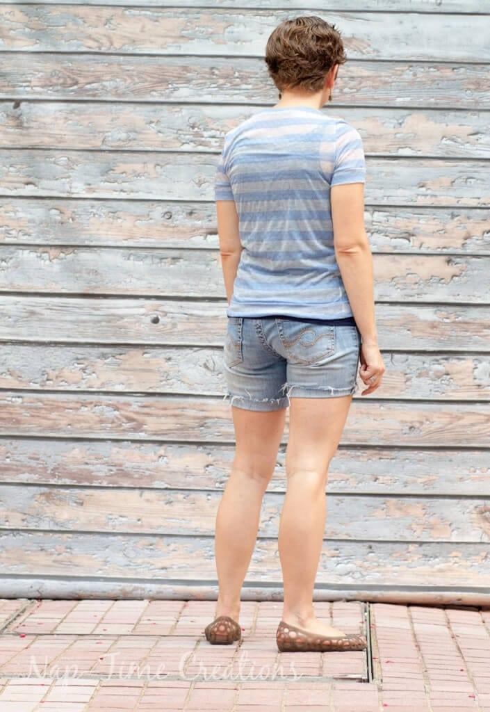 women's free summer t-shirt pattern4