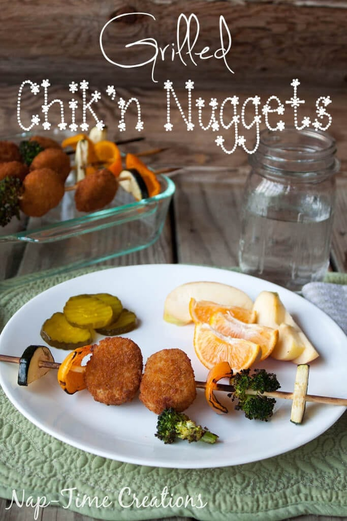 grilled chik'n nuggets #GrillWithATwist #CollectiveBias {ad}