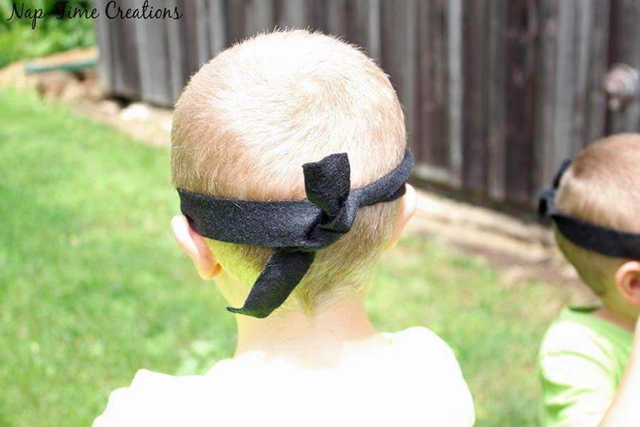 no sew felt minion goggles 2