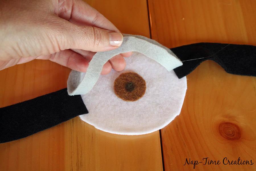 no sew felt minion goggles 7