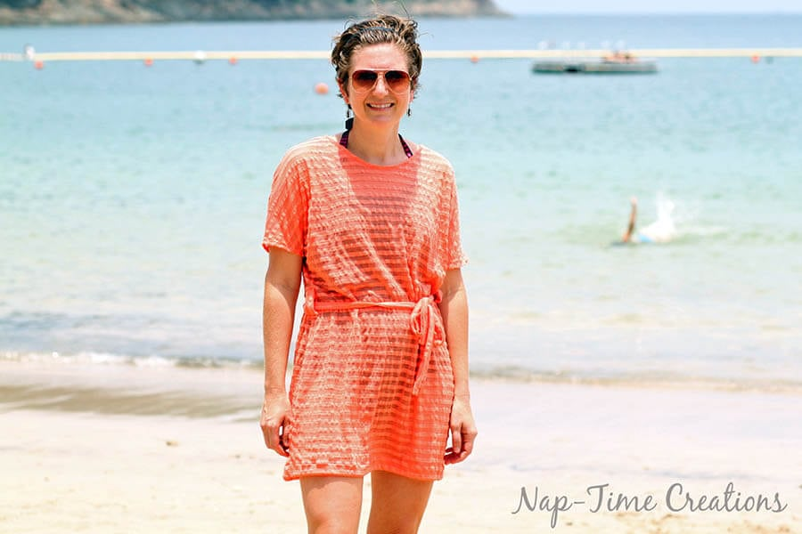 Women's Swim Cover Free Pattern by Nap Time Creations