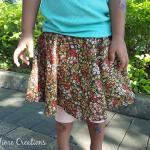 Rainbow Circle Skirt Tutorial